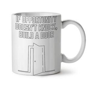 Life Opportunity Funny NEW White Tea Coffee Mug 11 oz | Wellcoda