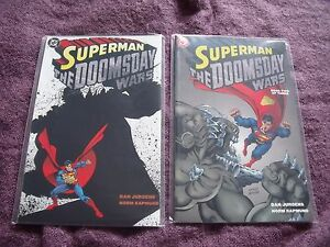 Superman-the-Doomsday-Wars-DC-Comic-books-1-amp-2