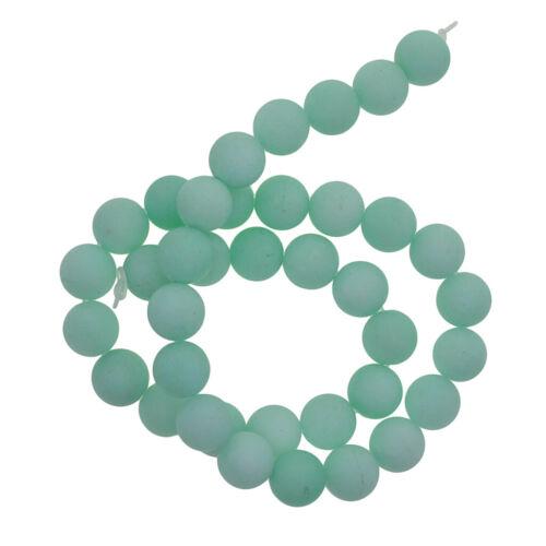 Ein Strang Jade Edelsteinperlen Schmucksteine Edelsteine Steinperlen