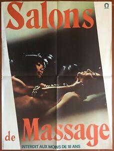 Affiche-erotique-SALONS-DE-MASSAGE-Lukas-Ammann-ELISABETH-VOLKMANN-60x80cm