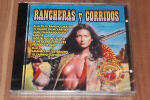 Various-rancheras-y-Corridos-CD-knife-CD-44234-NEUF-neuf-dans-sa-boite