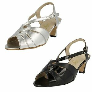 16e45795722 Image is loading Equity-Sarah-Wide-Fitting-Evening-Sandals