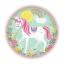 MAGICAL-UNICORN-Birthday-Party-Range-Tableware-Balloons-Supplies-Decorations miniatuur 5