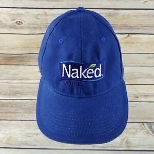 a36dad861 Naked Juice Drink Baseball Cap Hat Adjustable Embroidered Logo Blue ...