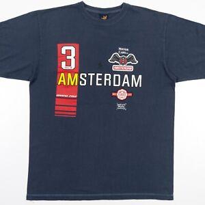 Amsterdam-Grand-Prix-Motor-Cars-Ltd-T-Shirt-Mens-Adult-Large-NWOT
