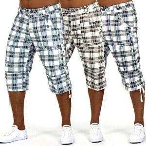 Bermuda-short-cargo-Capri-Homme-pantalon-pantacourt-3-4