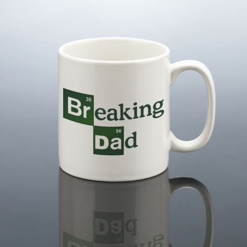 WITH GIFT BOX IDEAL FATHERS DAY GIFT BREAKING BAD// DAD PERSONALISED MUG