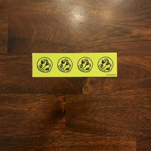 Supreme Stickers Assorted Individuals Bulk