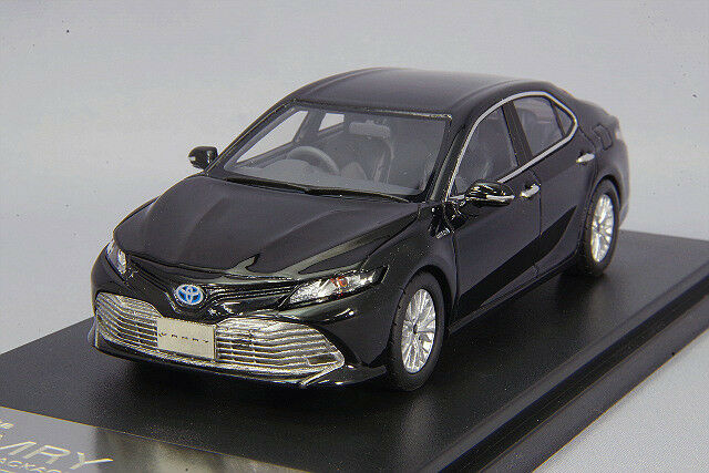 1 43 Hi-Story Toyota Camry G cuir paquet 2017 attitude noir mica HS206BK