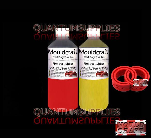 Polytek Poly PT Flex 85 Fast Cure 2kg Shore A85 Polyurethane Casting Rubber