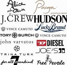 $1200 NEW Wholesale Lot Resale Womens Mens Designer Clothing Jeans Shirt Blouse