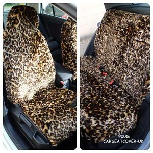 Chevrolet-Trax-LEOPARD-Faux-Fur-Furry-Car-Seat-Covers-Full-Set