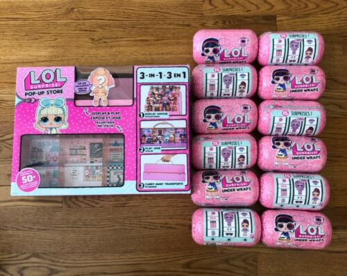 NEW LOL Surprise Series 4 Eye Spy Under Wraps Case of 12 /& LOL Pop Up Store NEW