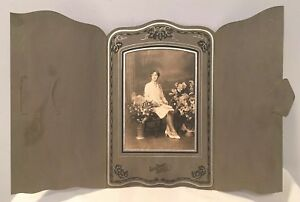 Antique-Photo-In-Cabinet-Card-From-Early-1900-039-s-Rare-Excellent-Condition-5of14