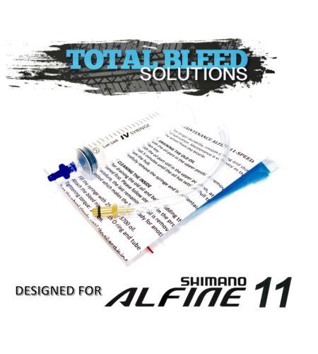 * TBS Service SG S700 Oil Option. Bleed Kit for Shimano Alfine 11 speed Hub