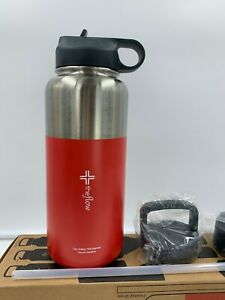 Theflow-Insulated-Water-Bottle-Large-32oz-Stainless-Steel-Hydro-Vacuum-Flask-wit