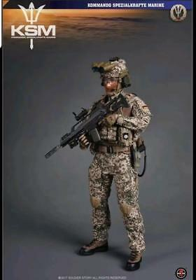 1//6 Soldier Story German KSM Marine VBSS Desert Flecktarn Uniform