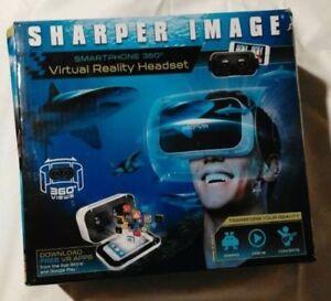 Sharper Image Smartphone 360 Virtual Reality Headset Ebay