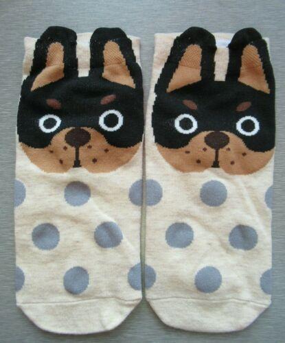 NEW Ladies Girls Rottweiler Puppy Trainer Socks FREE P/&P 1 Pair