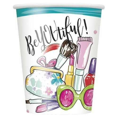 Make-Up /& Beauty Balloons Spa Party Birthday Range Tableware Decorations