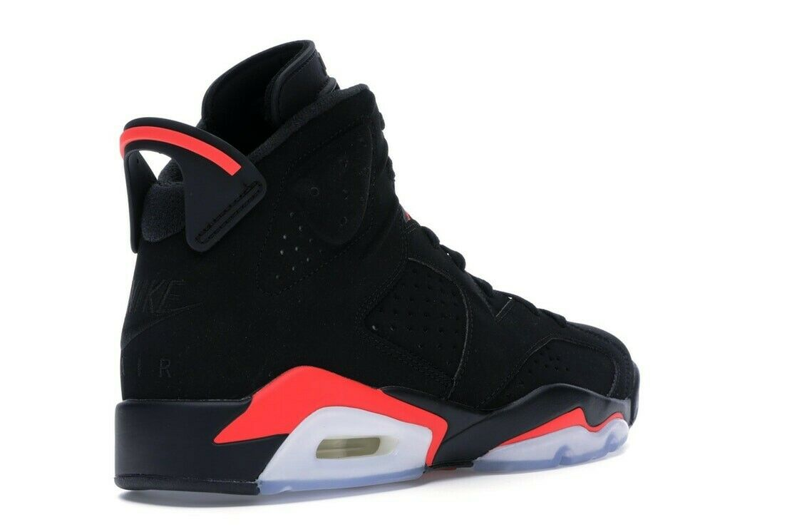 Nike Air Jordan 6 Retro Black Infrared (2019) UK Size 10