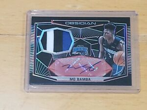 2018-Panini-Obsidian-Mo-Bamba-RC-Auto-SSP-5-True-RPA-3-Color-Patch-Rookie