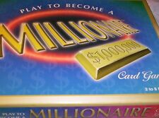 Play To Become a Millionaire Universal Games Strategy + Boy Girl 7+ Cards Money