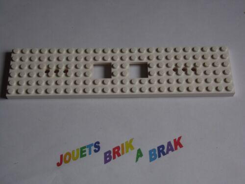 Lego lot 1 plaque base de train 6x24 24x6 6 x 24 Choose color ref 6584