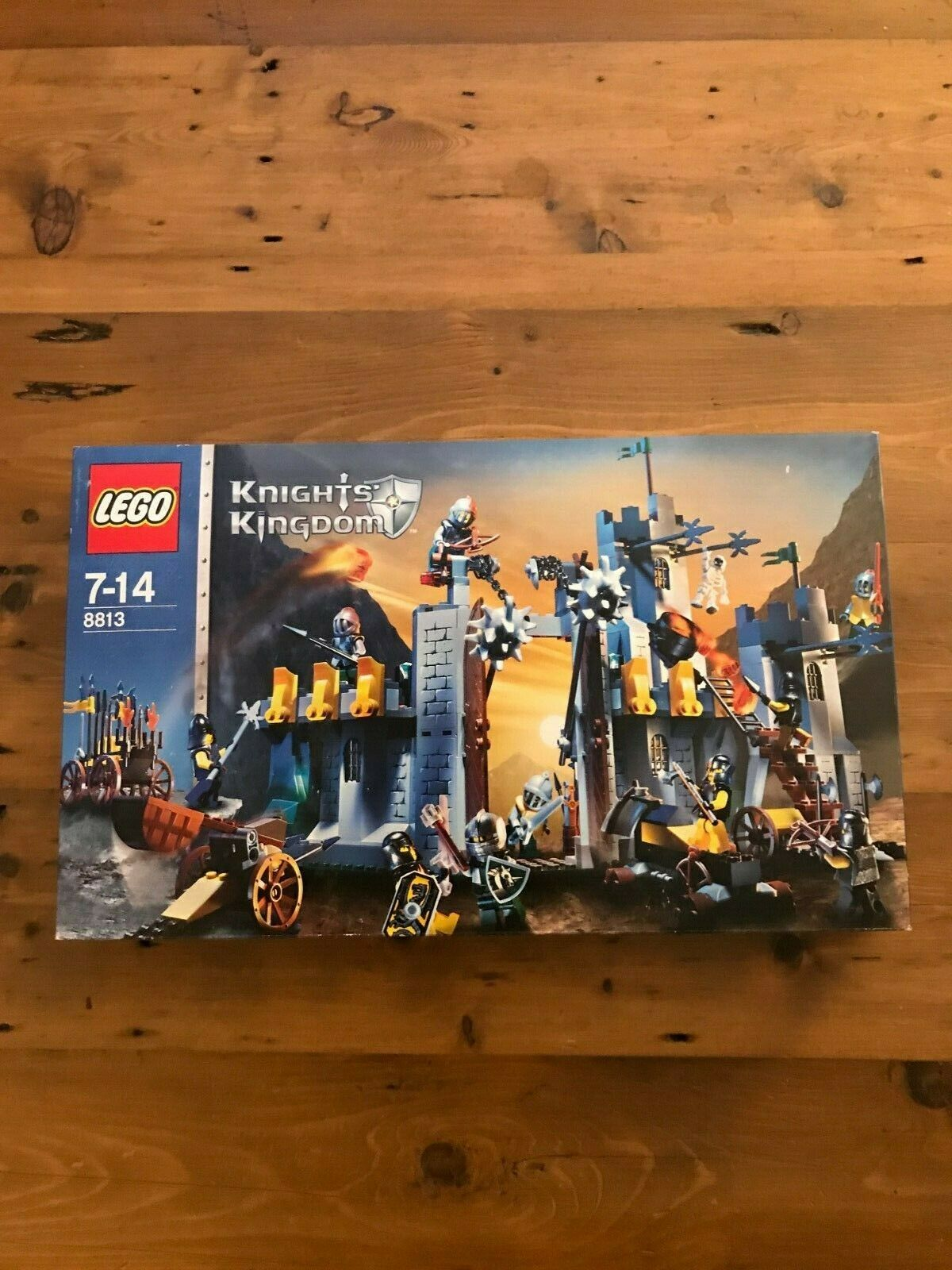 LEGO 8883 Cavalieri Regno Unito Battaglia al passo