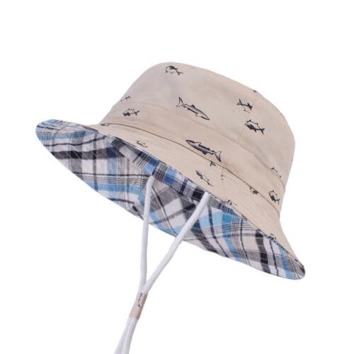 Cartoon Baby kids Summer Sun Hat Toddler Boy Girl bucket hats Beach cap