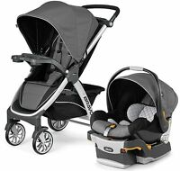 Chicco Bravo Trio 3-in-1 Baby Travel System Stroller W/ Keyfit 30 Orion
