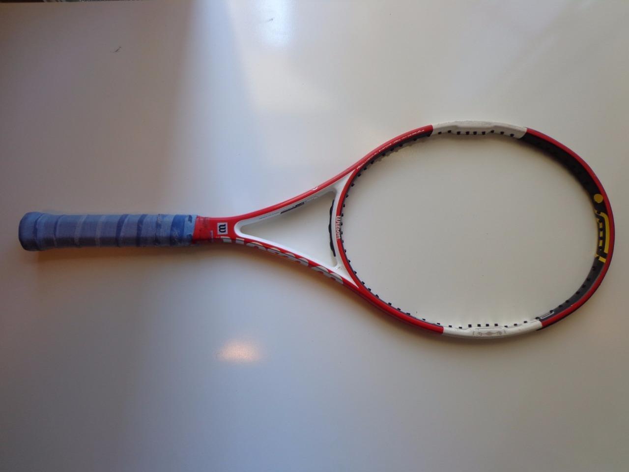 Wilson Ncode n code Six-One 95 head 16x18 11.7oz 4 5 8 grip Tennis Racquet