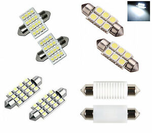 LED-SMD-Car-Dome-Interior-License-Registration-Number-Plate-Light-Bulbs-Festoon