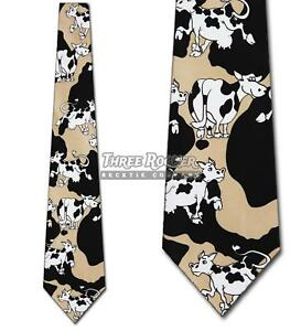 Cow Hide tie Mens Necktie