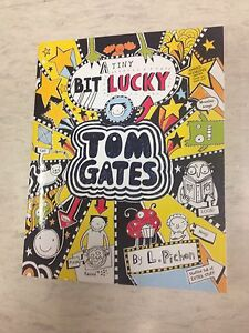 TOM-GATES-A-TINY-BIT-LUCKY-CHILDRENS-BOOK-BARGAIN-BRAND-NEW-great-price
