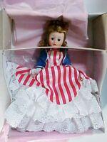 "Madame Alexander Doll Club 1991 ""MISS LIBERTY"" New in Box w Hang Tag"