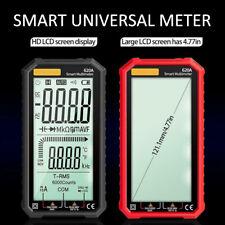 Lcd Digital 620a Multimeter True Rms Acdc Voltage Tester Resistance Meter Tool
