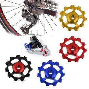 11T-MTB-Bike-Cycle-Aluminum-Alloy-Bearings-Jockey-Wheel-Rear-Derailleur-Pulleys