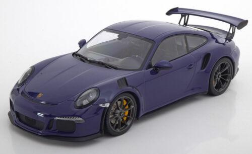 1:18 Minichamps Porsche 911 gt3 RS 2015 Purple 991