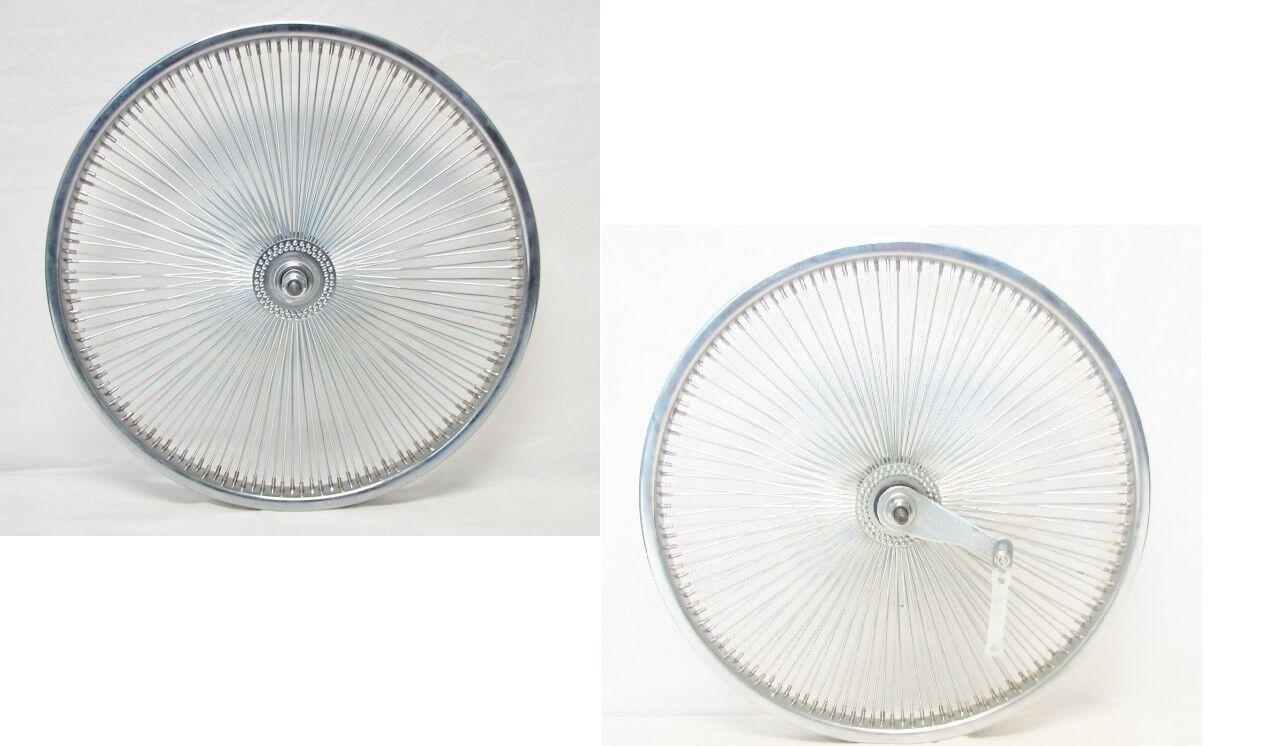 BICYCLE 20  WHEELSET 140 SPOKES FREEWHEEL or COASTER  CRUISER LOWRIDER BMX  wholesale price