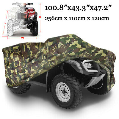 XXXL Waterproof ATV Camouflage Cover Bag Fit Can-Am Honda Polaris Suzuki Yamaha