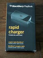 Brand Genuine Rim Blackberry Playbook Rapid Quick Wall Charger Acc-39341-303
