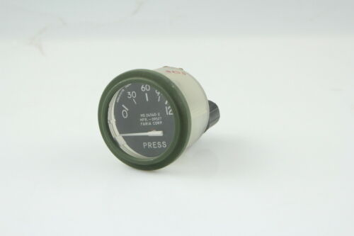 Faria Pressure Indicator MS24540-2,0-120,4060-5-517B MFR-09527