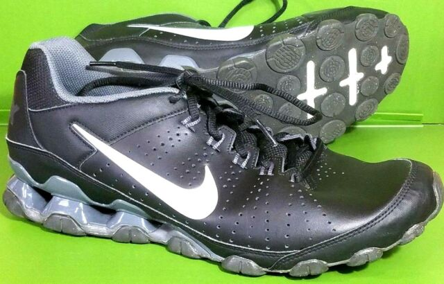 Nike Reax 9 TR Cross Training Mens 2015 Shoes Black 807184-002 12 ... 58534712d350