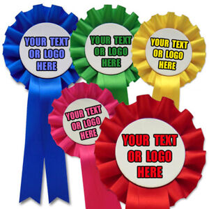 10-Personalised-Rosettes-Printed-with-your-Text-and-Logo-Cheap-Printed-Rosettes
