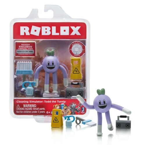 Todd the Turnip 3in Figure Mint in Package Roblox Cleaning Simulator