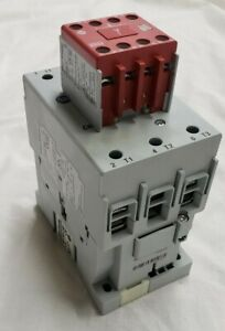 Allen-Bradley 100-C60D*00 with 100S-F and 100-S Auxiliary Contacts