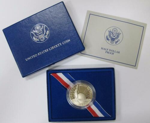 1986 Liberty Half Dollar Proof With Box and COA *