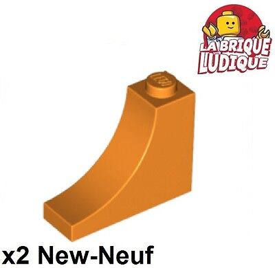 Lego 2x Vehicle Mudguard Mud Guard 1 1//2x6x1 Arche Arch Orange 62361 New
