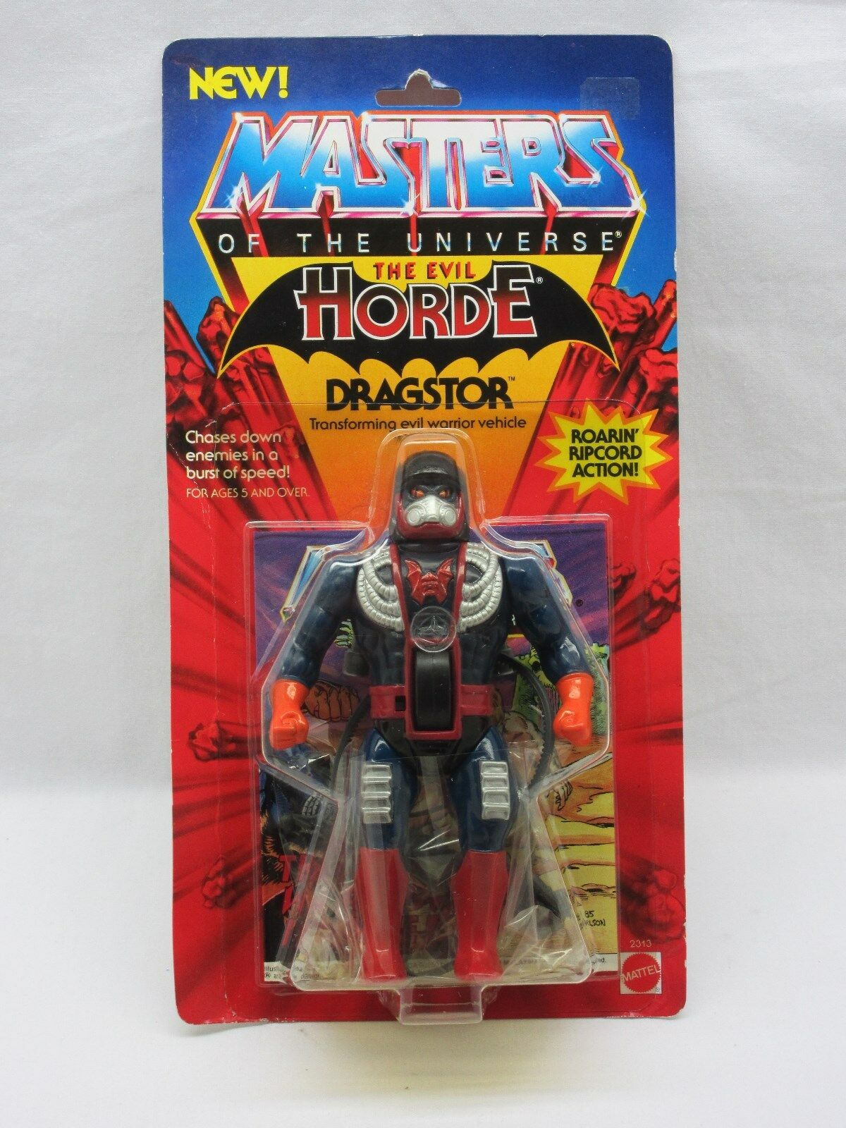 MOTU,Vintage,DRAGSTOR,Masters of the Universe,MOC,carded,figure,sealed,He Man Man Man fe5bbd
